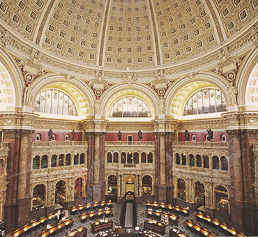 Filing the copyright with the Library of Congress to obtain the required copyrighted material